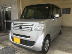沖縄の中古車 ホンダ N BOX 車両価格 69万円 リ済別 平成23年 5.3万K シルバー