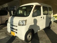 沖縄の中古車 ダイハツ ハイゼットカーゴ 車両価格 35万円 リ済別 平成22年 5.6万K ホワイト