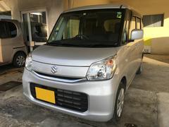 沖縄の中古車 スズキ スペーシア 車両価格 99万円 リ済別 平成28年 1.5万K シルバー
