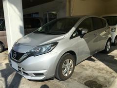 沖縄の中古車 日産 ノート 車両価格 109万円 リ済別 平成28年 1.1万K シルバー