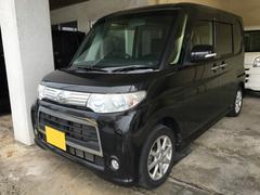 沖縄の中古車 ダイハツ タント 車両価格 65万円 リ済別 平成24年 4.5万K ブラックM