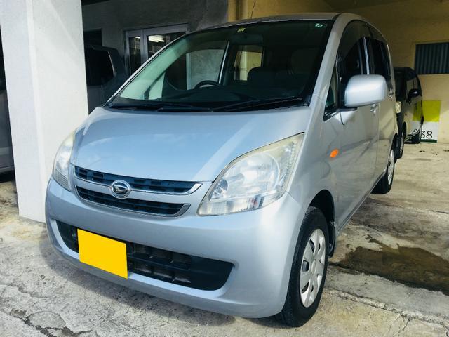 沖縄の中古車 ダイハツ ムーヴ 車両価格 25万円 リ済別 平成19年 5.8万km シルバー