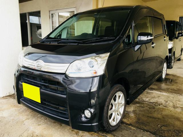 沖縄の中古車 ダイハツ ムーヴ 車両価格 39万円 リ済別 2012(平成24)年 8.0万km ブラックM