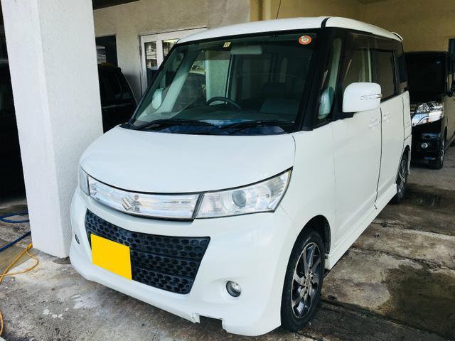 沖縄の中古車 スズキ パレットSW 車両価格 55万円 リ済別 平成22年 8.1万km パール