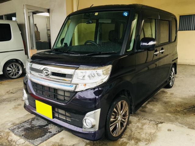 沖縄の中古車 ダイハツ タント 車両価格 119万円 リ済別 平成26年 3.2万km ダークパープルM