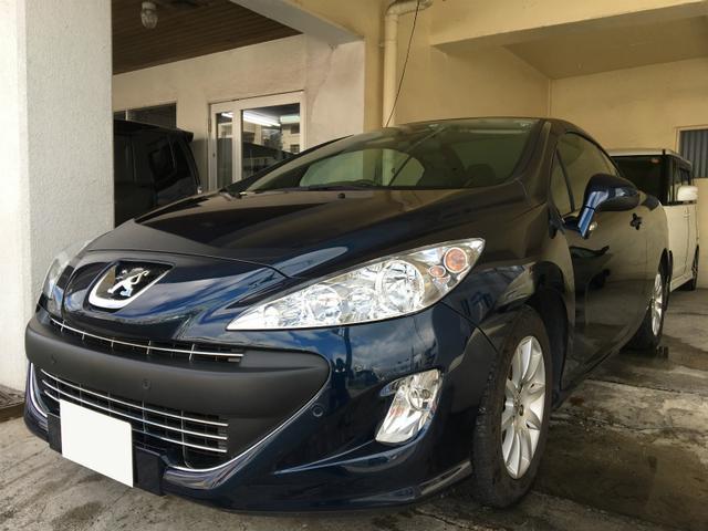 沖縄県の中古車ならプジョー 308 CC プレミアム ハードトップオープンカー TVナビ ETC