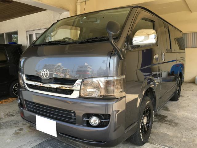 沖縄県の中古車ならハイエースバン スーパーGL ディゼル 4WD タイベル交換済み 触媒洗浄済