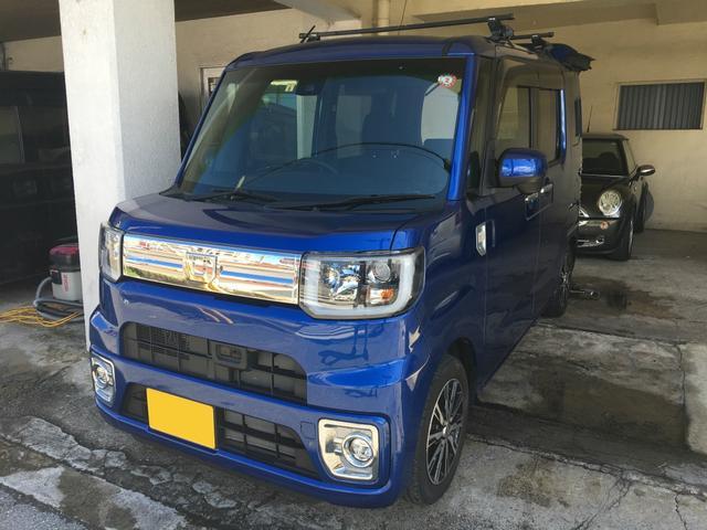 沖縄の中古車 ダイハツ ウェイク 車両価格 129万円 リ済込 2016(平成28)年 2.3万km ブルーM