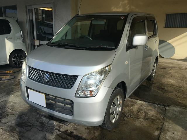 沖縄の中古車 スズキ ワゴンR 車両価格 39万円 リ済込 2011(平成23)年 5.1万km シルバー