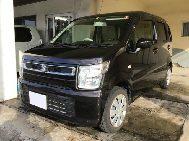 沖縄県の中古車ならワゴンR FA ワンオーナー 2年保証対象