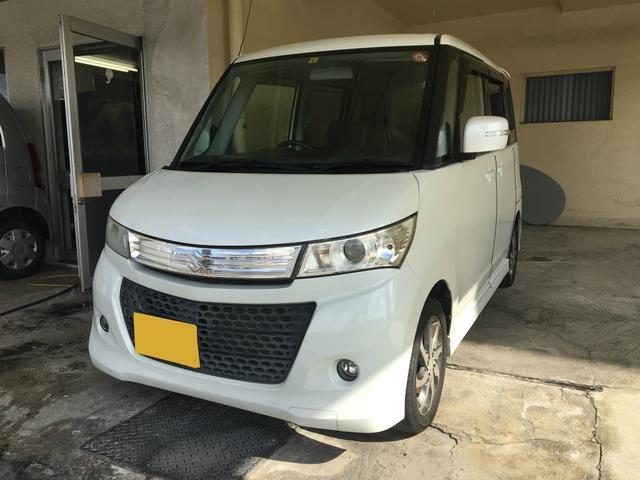 沖縄県の中古車ならパレットSW TS 両側パワースライド・.リア修復有・2年保証対象車
