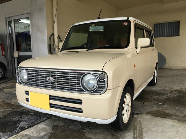 沖縄県の中古車ならアルトラパン L ツートン・キーレスキー・2年保証対象車!