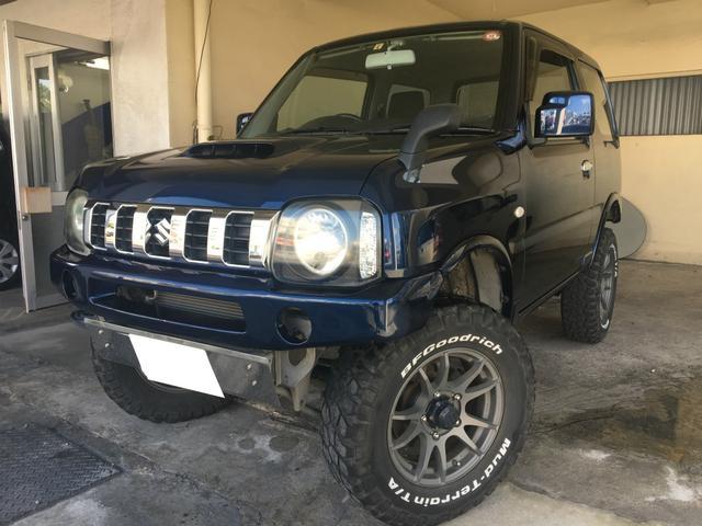 沖縄県の中古車ならジムニー XGターボ リフトアップ.16インチアルミ.2年保証対象車
