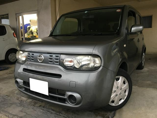 沖縄の中古車 日産 キューブ 車両価格 39万円 リ済込 2012(平成24)年 9.2万km ガンM