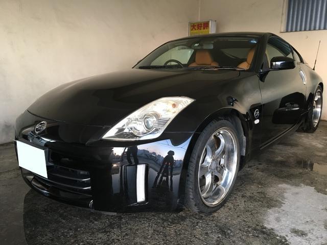 沖縄県の中古車ならフェアレディZ バージョンT 両席電動シート レザーシート BOSEサウンド