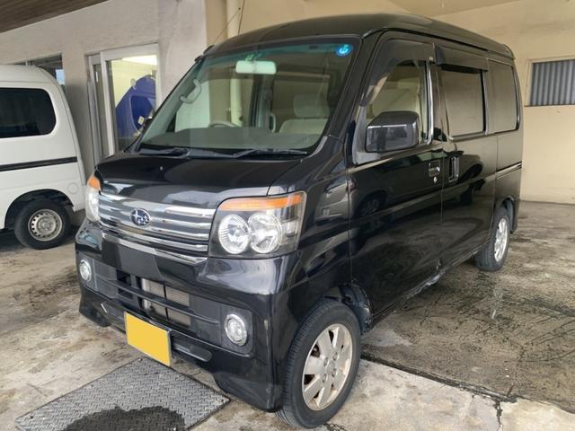 沖縄の中古車 スバル ディアスワゴン 車両価格 45万円 リ済別 2009(平成21)年 7.5万km ブラックM