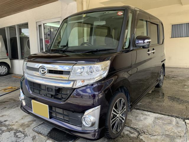 ダイハツ カスタムRS SA 両側パワスラ 社外ナビ 2年保証対象車