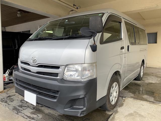 沖縄県宜野湾市の中古車ならハイエースワゴン DX 純正オーディオ 2年保証対象車
