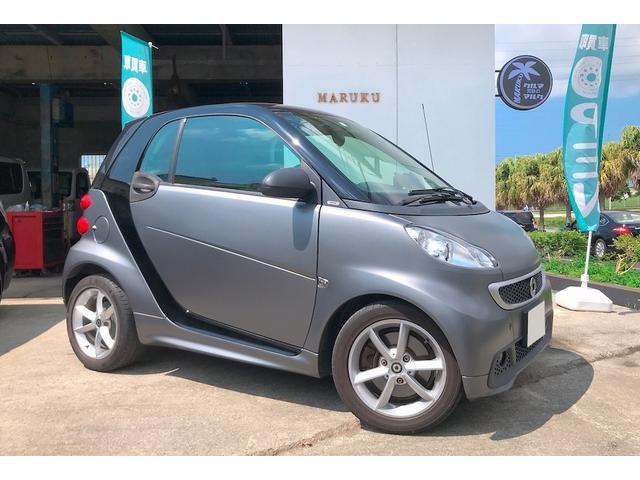 沖縄県沖縄市の中古車ならスマートフォーツークーペ ターボ ターボ(2名) TV CD Bluetooth バックモニター ETC