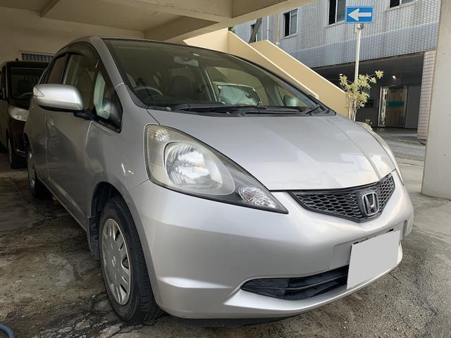 沖縄県豊見城市の中古車ならフィット G 純正オーディオ CD AUX ETC 2年保証対象車