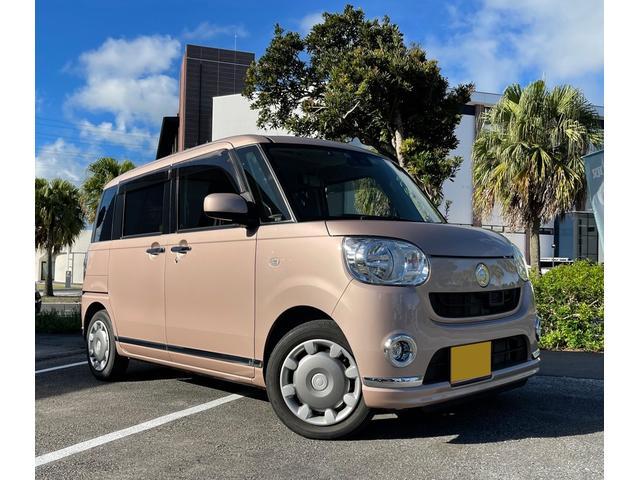 沖縄県沖縄市の中古車ならムーヴキャンバス Xメイクアップ SAII 5年保証対象車・CD・DVD・Bluetooth・ETC・アイドリングストップ車・ドライブレコーダー・バックモニター