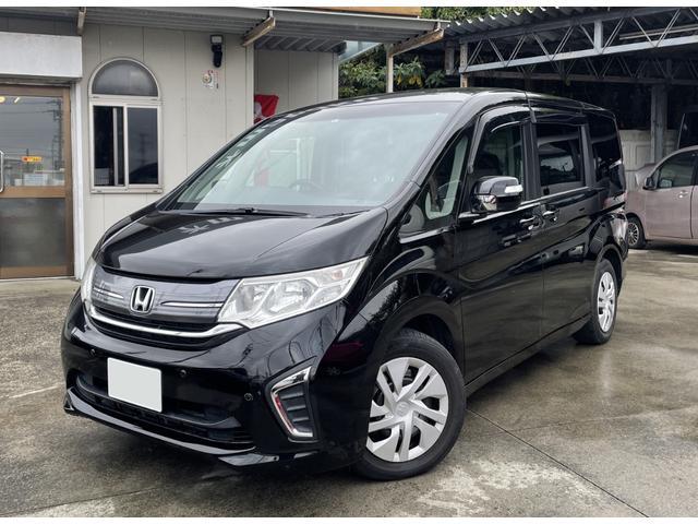 沖縄の中古車 ホンダ ステップワゴン 車両価格 159万円 リ済別 2015(平成27)年 5.8万km ブラックM