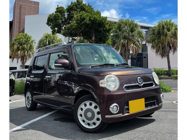 沖縄の中古車 ダイハツ ミラココア 車両価格 64万円 リ済別 2012(平成24)年 6.4万km ブラウン