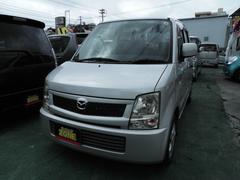 沖縄の中古車 マツダ AZワゴン 車両価格 19万円 リ済込 平成17年 6.7万K シルバーM