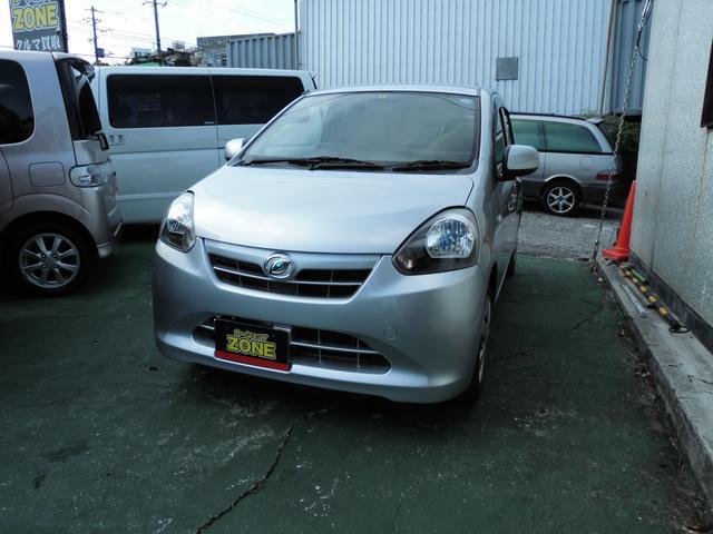 沖縄の中古車 ダイハツ ミライース 車両価格 34万円 リ済込 平成23年 11.3万km シルバーM