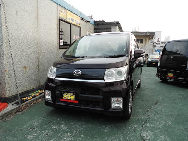 沖縄の中古車 ダイハツ ムーヴ 車両価格 33万円 リ未 2009(平成21)年 12.3万km パープルM
