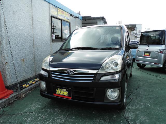 沖縄の中古車 スバル ステラ 車両価格 30万円 リ未 平成18年 11.3万km グレーM
