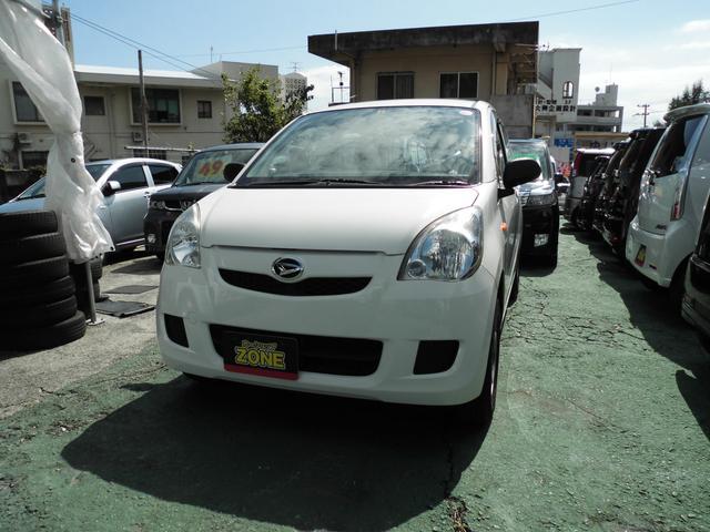 沖縄の中古車 ダイハツ ミラ 車両価格 20万円 リ済込 2010(平成22)年 12.5万km ホワイトM