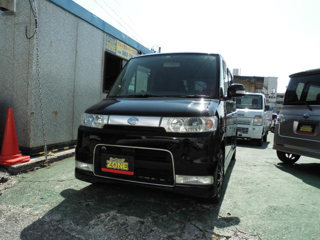 沖縄の中古車 ダイハツ タント 車両価格 39万円 リ済込 2006(平成18)年 12.0万km ブラックM