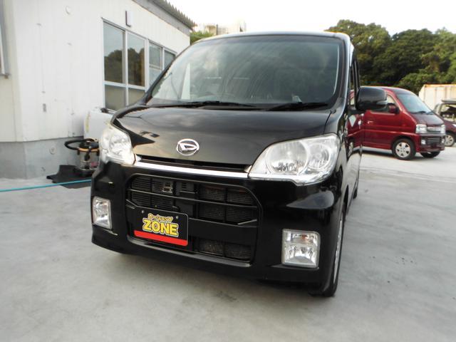 沖縄の中古車 ダイハツ タントエグゼ 車両価格 45万円 リ済込 2011(平成23)年 8.7万km ブラックM