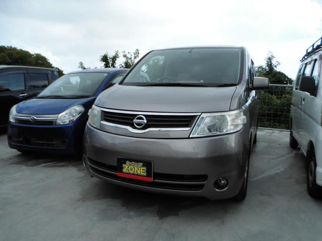 沖縄の中古車 日産 セレナ 車両価格 35万円 リ済込 平成19年 12.4万km グレーM