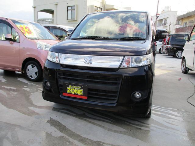 沖縄県の中古車ならワゴンRスティングレー T