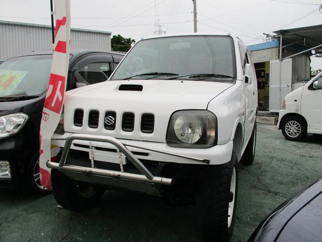 沖縄市 カーショップZONE スズキ ジムニー XL ホワイト 16.6万km 1998(平成10)年