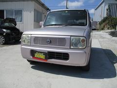 沖縄の中古車 スズキ アルトラパン 車両価格 15万円 リ済込 平成14年 14.1万K ピンク