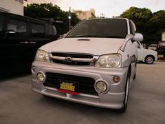 沖縄の中古車 ダイハツ テリオスキッド 車両価格 11万円 リ済込 平成13年 16.7万K ツートン