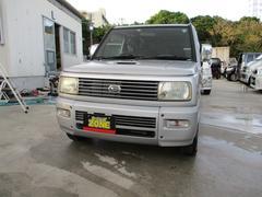 沖縄の中古車 ダイハツ ネイキッド 車両価格 19万円 リ済込 平成15年 11.9万K シルバーM