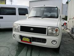 沖縄の中古車 スズキ アルトラパン 車両価格 20万円 リ済込 平成15年 11.3万K パールホワイト