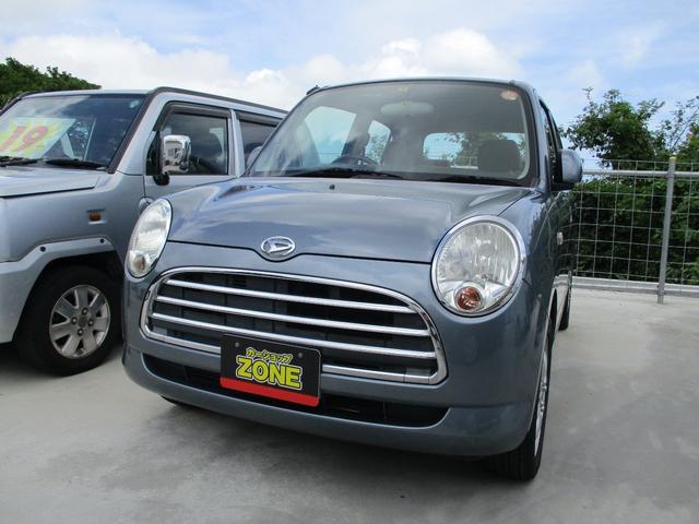沖縄の中古車 ダイハツ ミラジーノ 車両価格 30万円 リ済込 2005(平成17)年 9.5万km ガンM