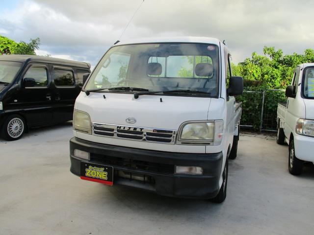 沖縄の中古車 ダイハツ ハイゼットトラック 車両価格 25万円 リ済込 1999(平成11)年 14.3万km ホワイト