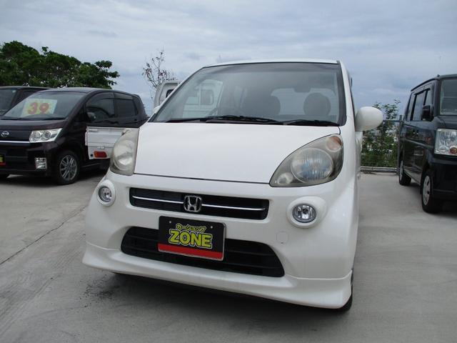沖縄の中古車 ホンダ ライフ 車両価格 25万円 リ済込 2006(平成18)年 8.8万km ホワイトM