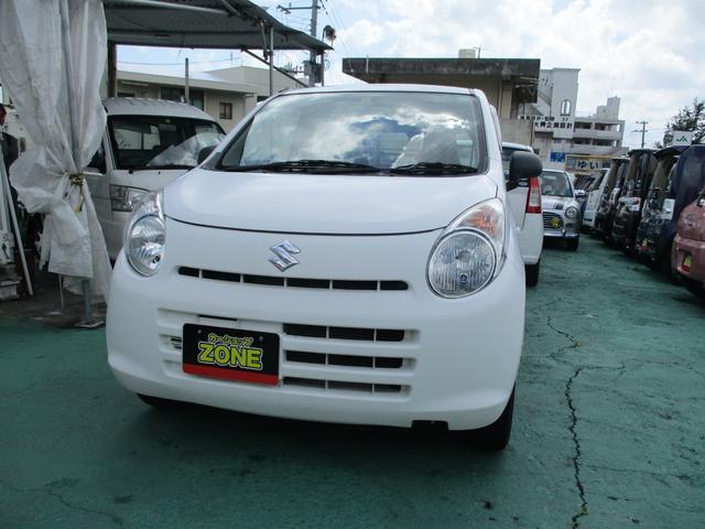 沖縄の中古車 スズキ アルト 車両価格 37万円 リ済込 2013(平成25)年 8.0万km ホワイト