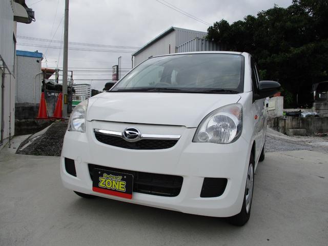 沖縄の中古車 ダイハツ ミラ 車両価格 37万円 リ済込 2012(平成24)年 6.0万km ホワイト