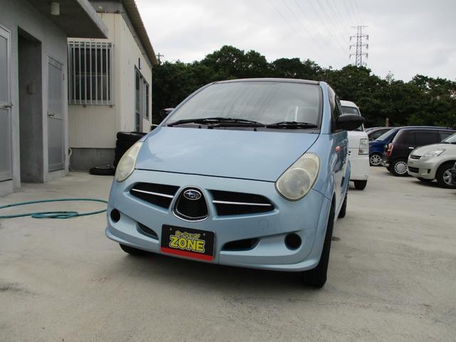 沖縄の中古車 スバル R2 車両価格 19万円 リ済込 平成17年 走不明 ブルーM