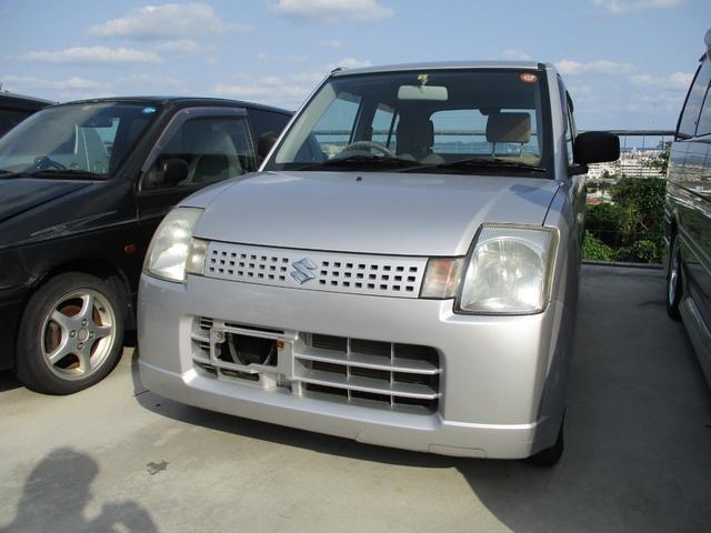 沖縄の中古車 スズキ アルト 車両価格 17万円 リ済込 2006(平成18)年 6.1万km シルバーM