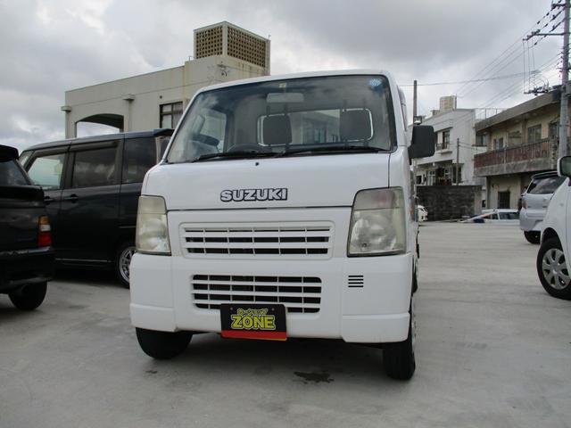 沖縄の中古車 スズキ キャリイトラック 車両価格 40万円 リ済込 2008(平成20)年 9.8万km ホワイト