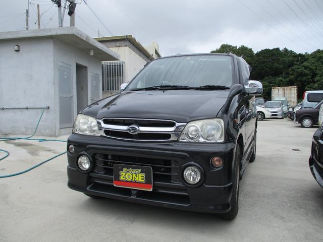 沖縄の中古車 ダイハツ テリオスキッド 車両価格 11万円 リ済込 2002(平成14)年 11.0万km ブラック